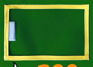ゼッケンのパス券ホルダー